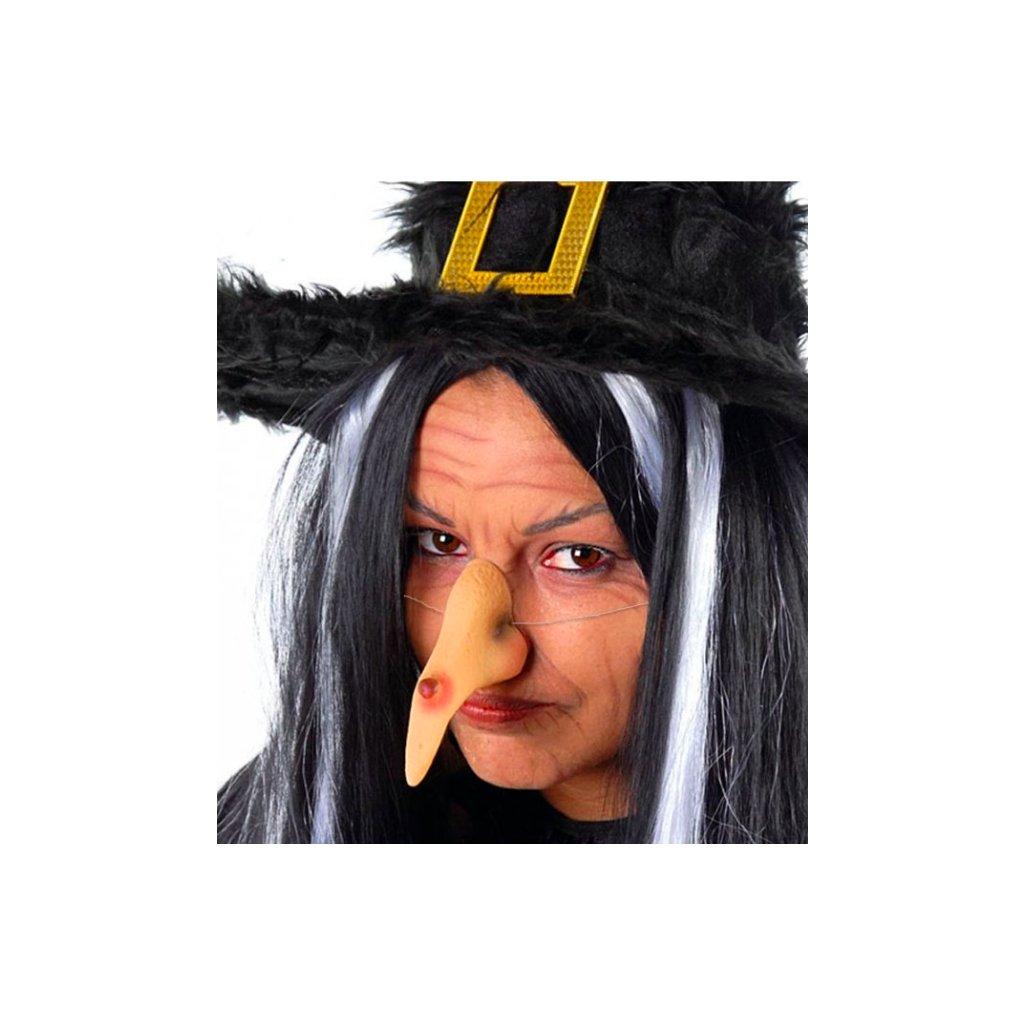 Čarodějnický nos na gumičku