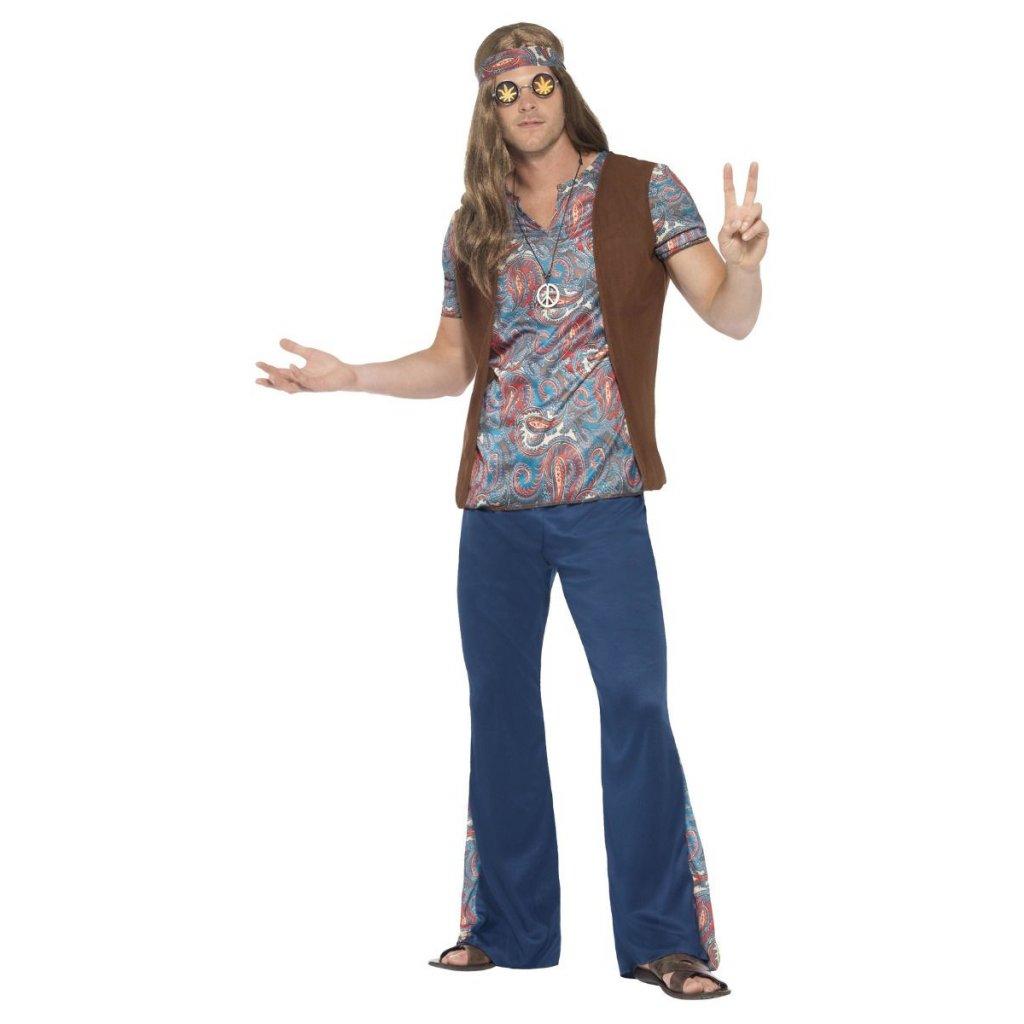 Pánský kostým hippie man