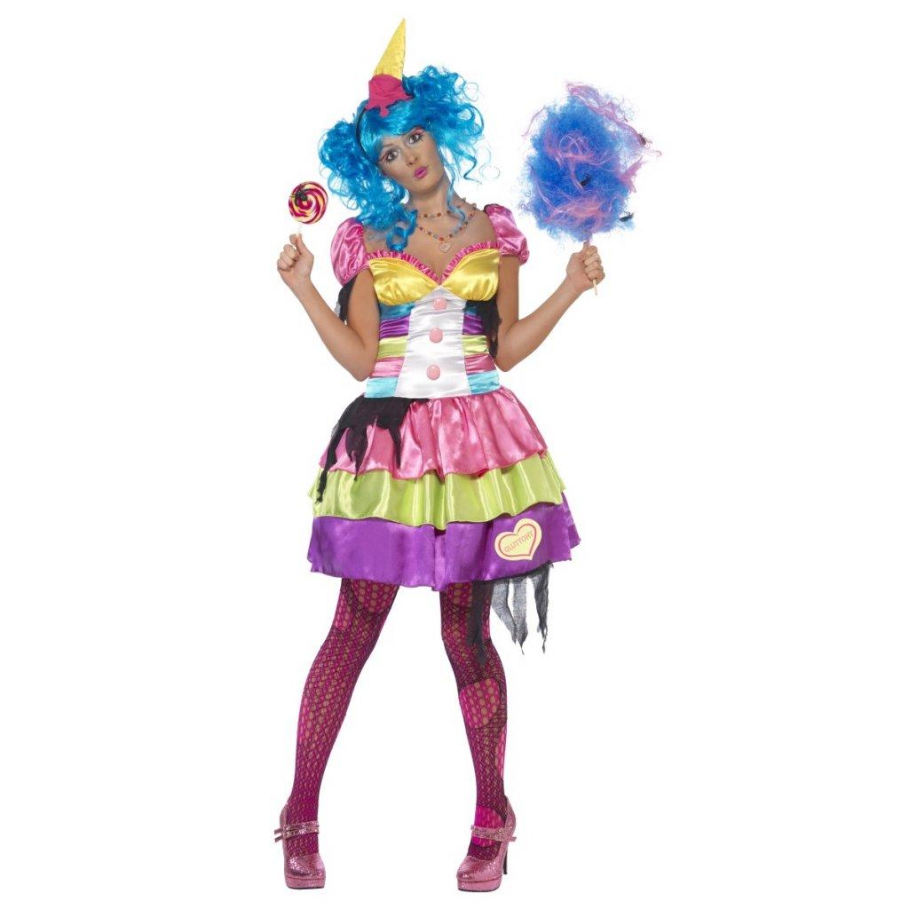 c94d0b9d9f82 Dámský kostým Halloween sexy klaun