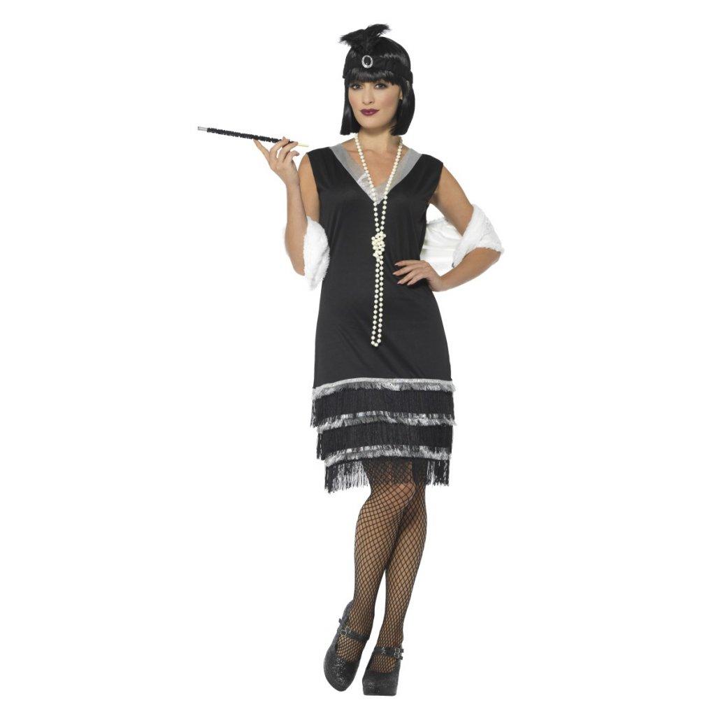 Kostým flapper šaty