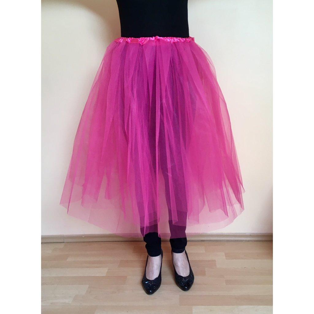 03eb761d9093 Tutu sukně růžová fuchsia pro dospělé
