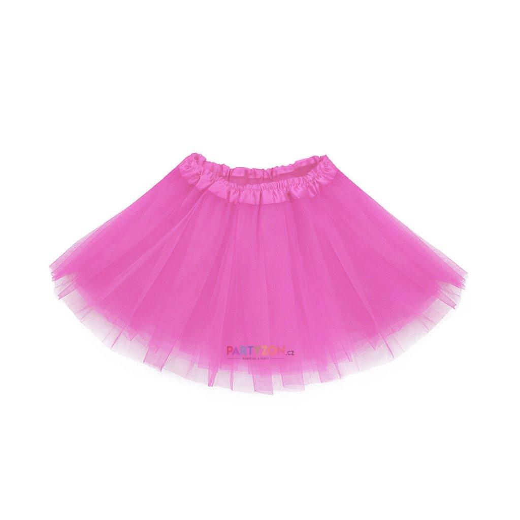 204485e6d263 růžová tutu sukně pro děti partyzon