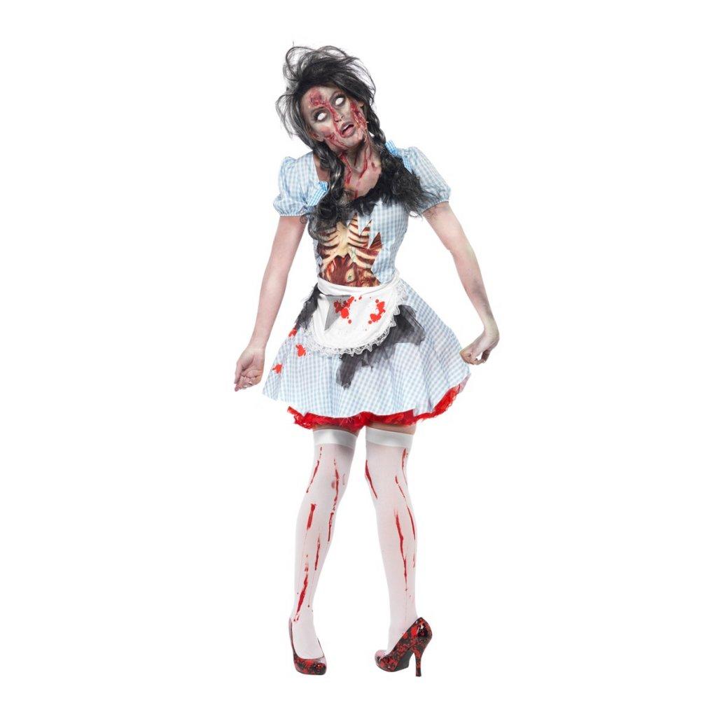Halloween kostým zombie Dorothy dospělý