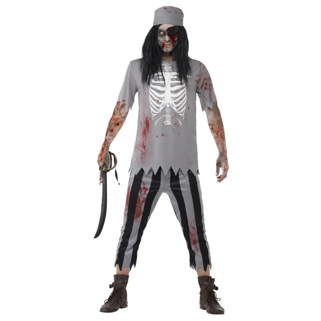 Pánský kostým Mrtvý pirát - Halloween  9dd26044a32