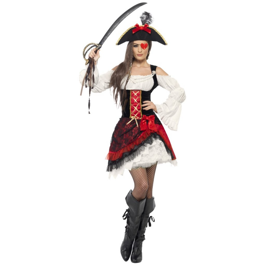 Dámský kostým pirátská lady