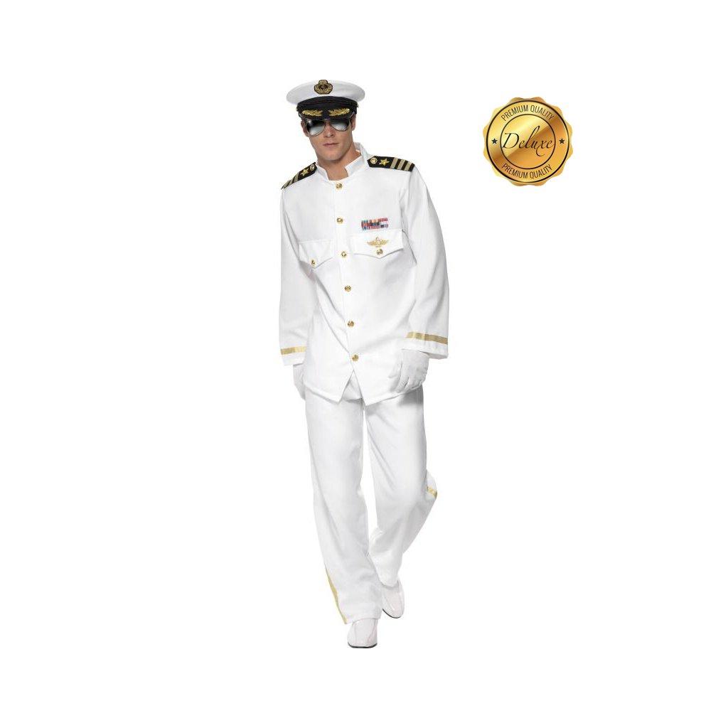 kostým kapitán námořník uniforma dospělý