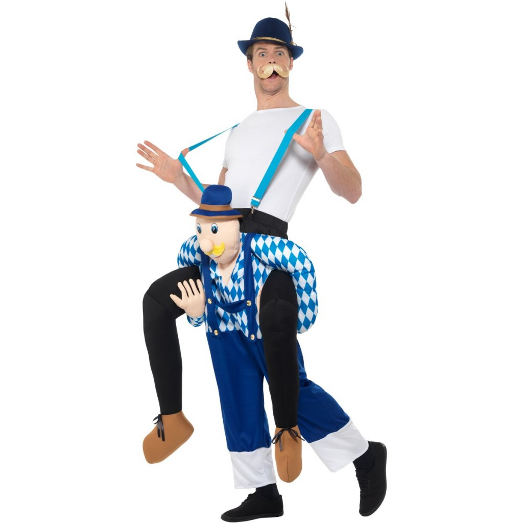 crazy Kostým Bavorský únosce piggyback