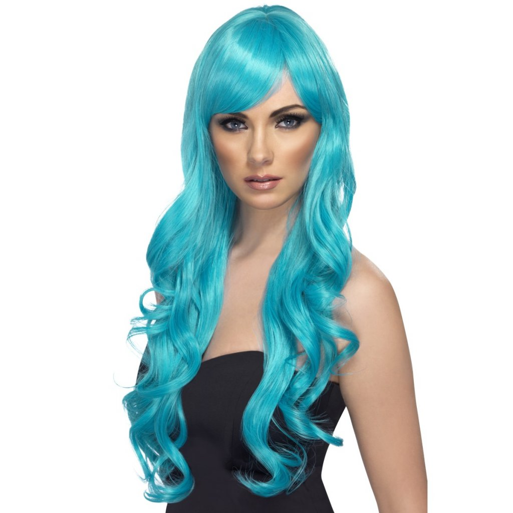 Dámská paruka modrá Aqua partyzon