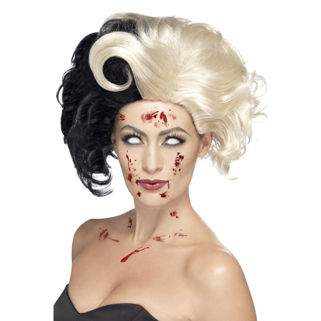 Dámská paruka Cruella 101 dalmatinu