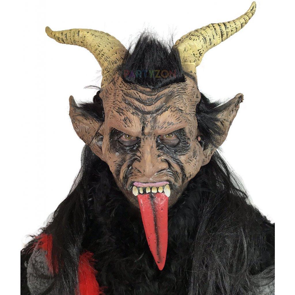 kostym krampus cert kozich maska certa krampus ... 4d7bc8e20c