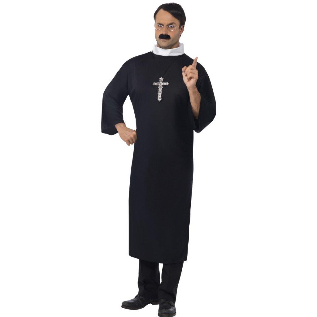 Pánský kostým kněz