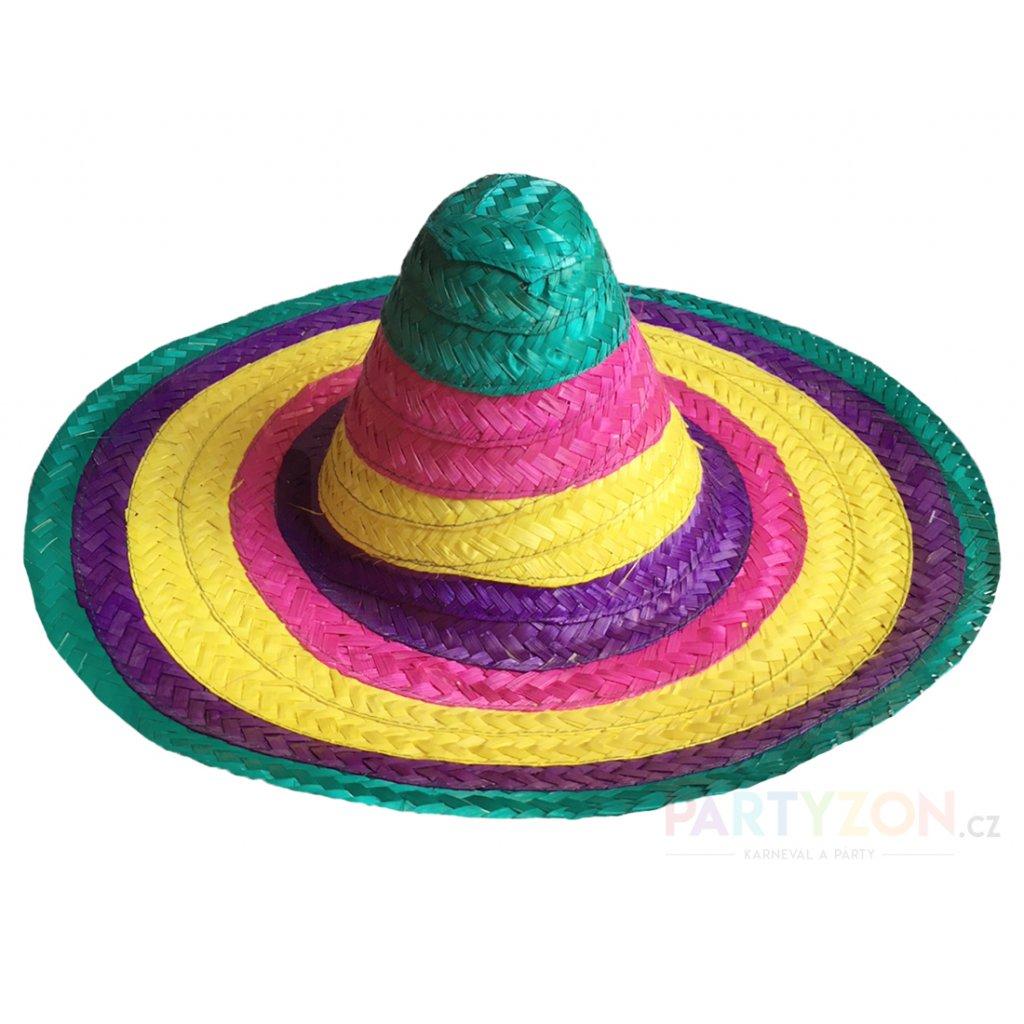 dadb236ec Mexické sombrero barevné levně | PARTYZON.cz