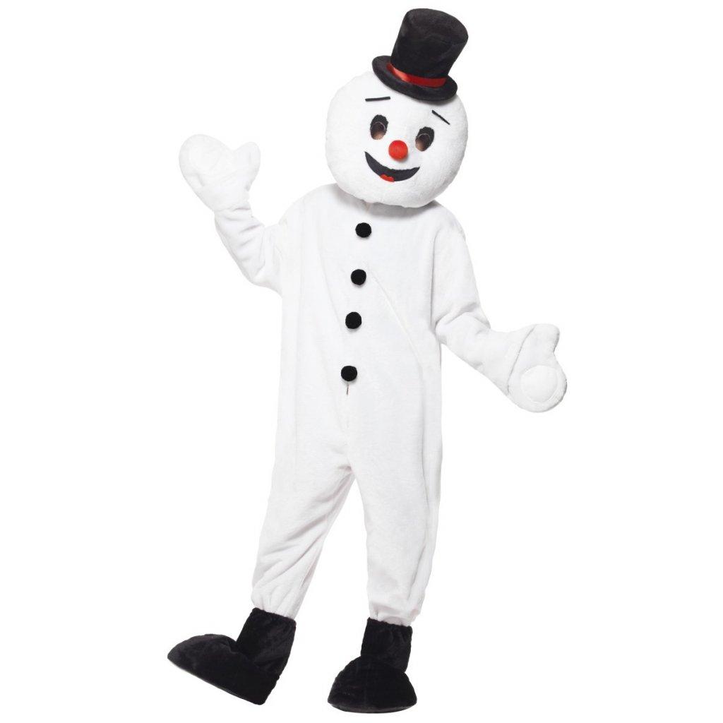 maskot sněhulák partyzon