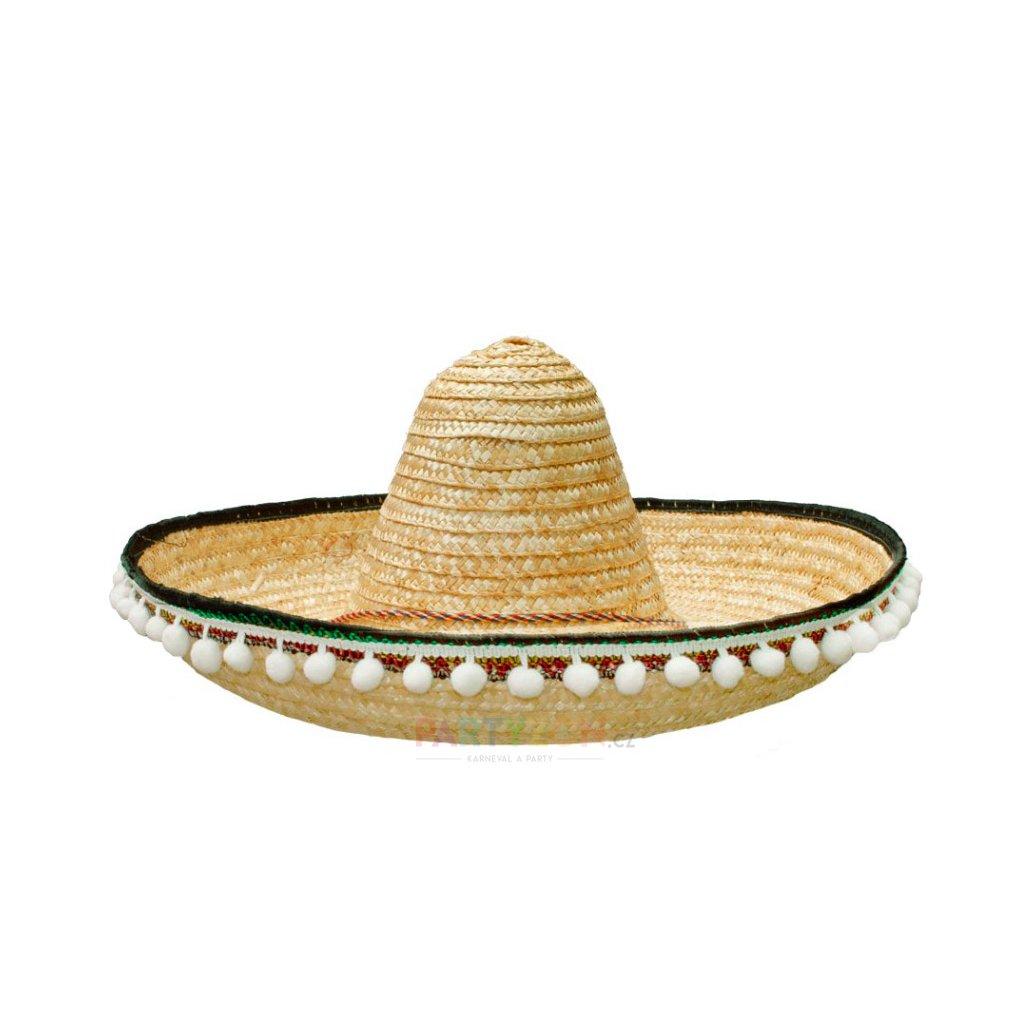 649dd9bd3 Mexický klobouk sombrero béžové | PARTYZON.cz