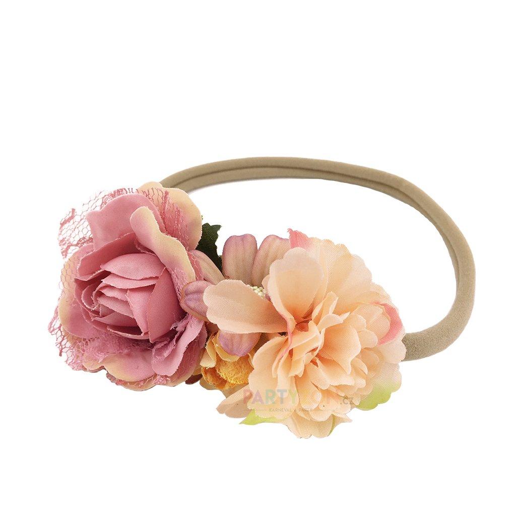 Čelenka s květinami Rosie  8bdb2eddac