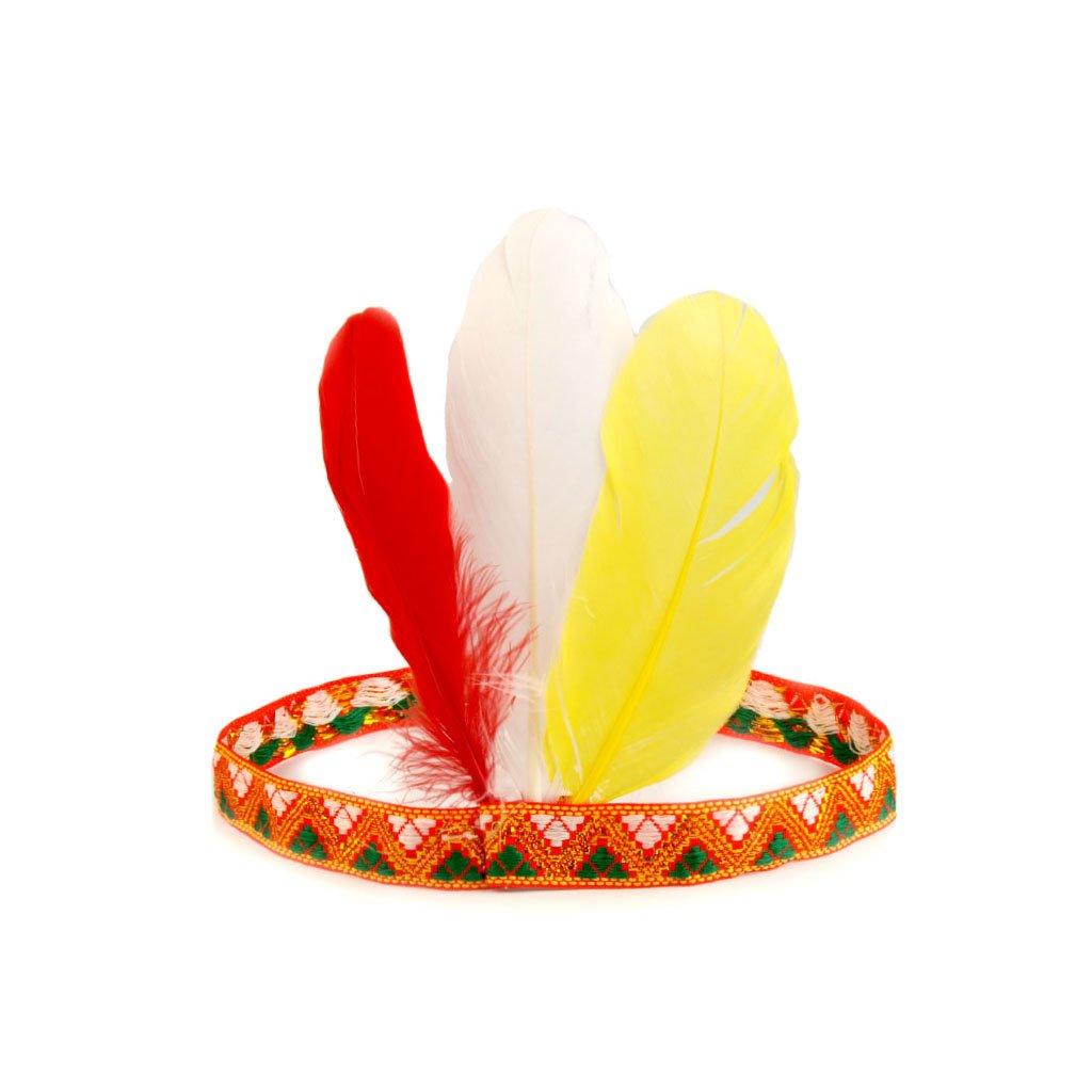 Indiánská čelenka Cheyenne na karneval  aadc01a4f3