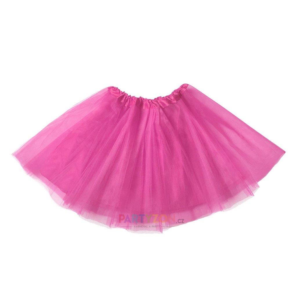tutu sukně fuchsia