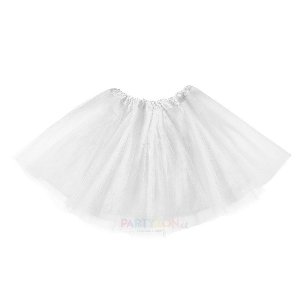 tutu sukně bílá