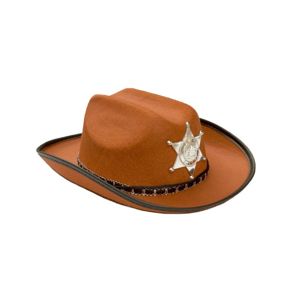 6021a534638 Dětský kovbojský klobouk levně