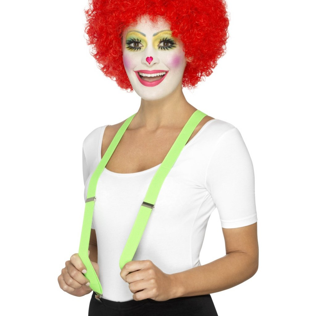 zelené kšandy levně karneval