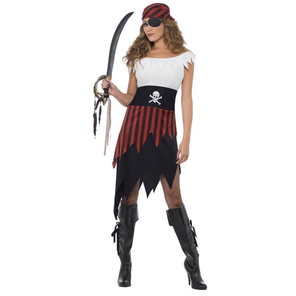Kostým pirátky dospělý levně  257f5c60f36