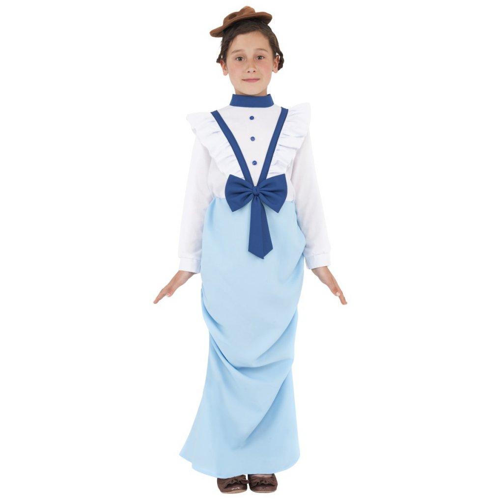 Dětský kostým viktoriánská dívka