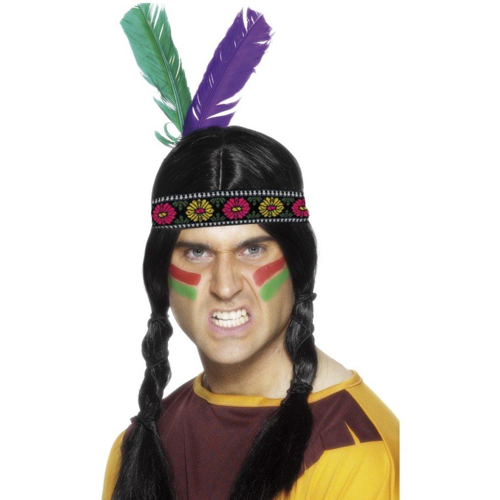 Indiánská čelenka pro indiány  53fc6f49ce