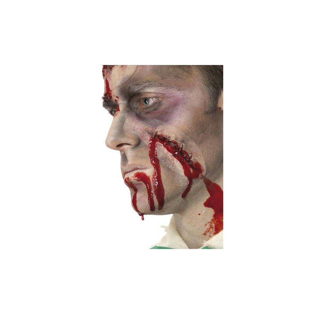 umělá kůže zranění halloween