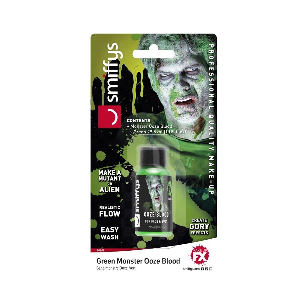 Umělá krev zelená sliz 30ml