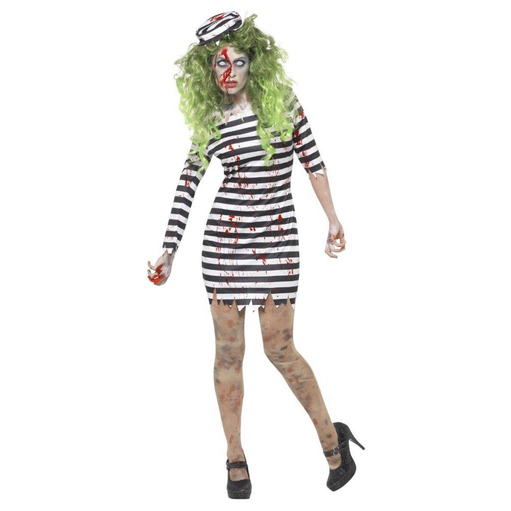 Halloween kostým vězeňkyně