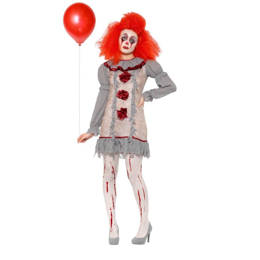 Dámský kostým Horor klaun TO
