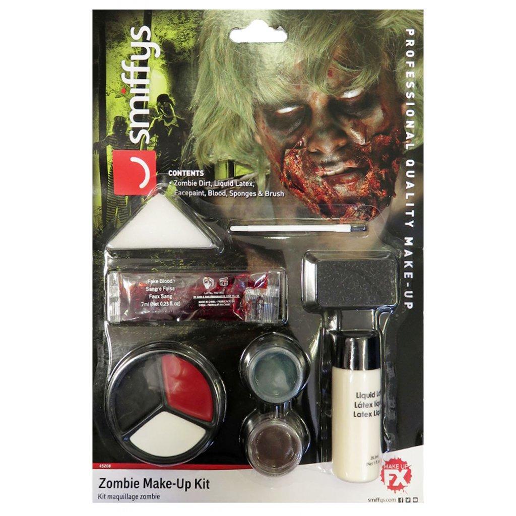 sada zombie makeup halloweenské líčení