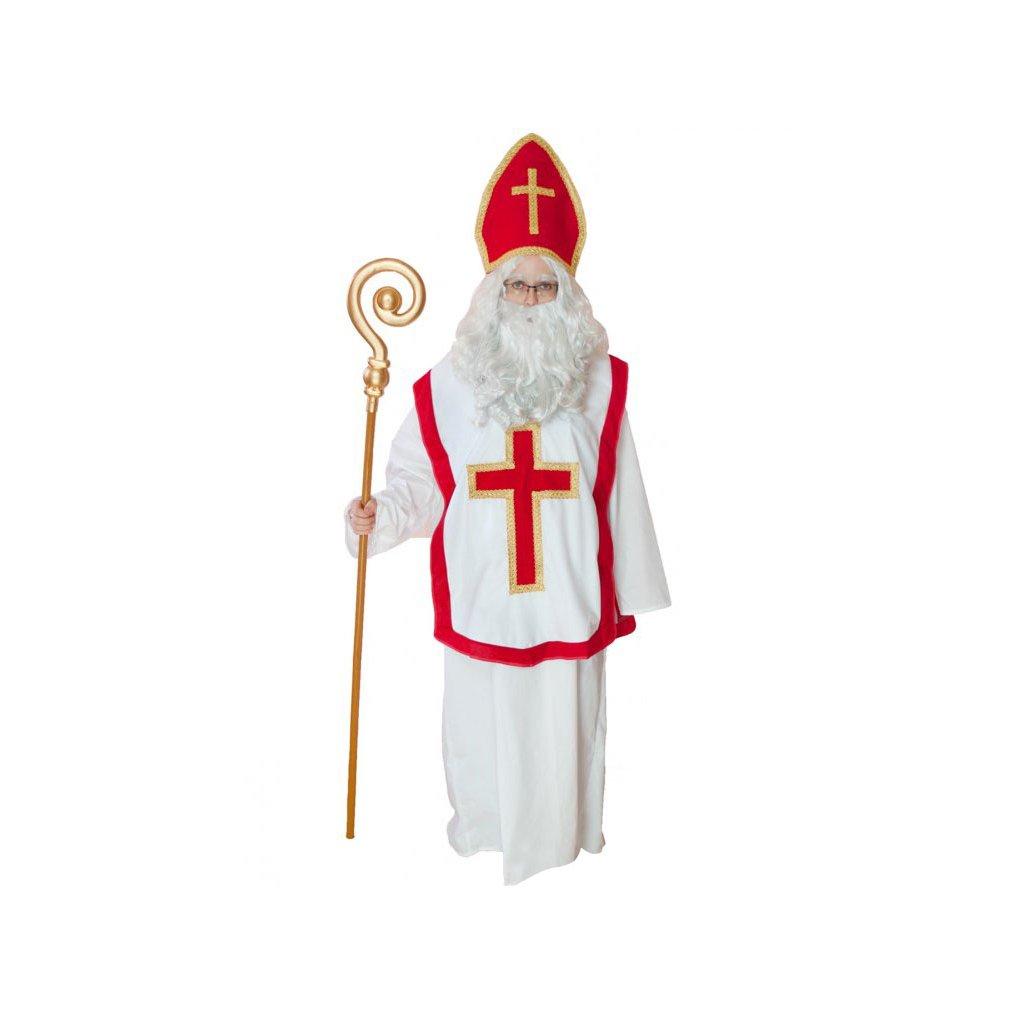 Kostým Mikuláš - mikulášský plášť  9b430f943b1