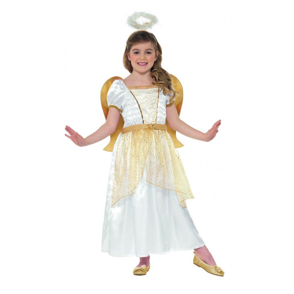 Dětský andělský kostým s křídly