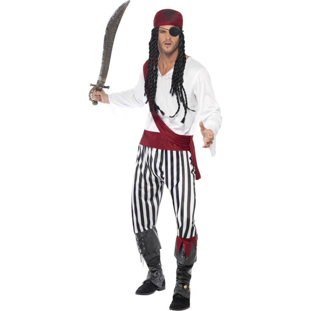 Karnevalový kostým pirát dospělý  e27c5290b6b
