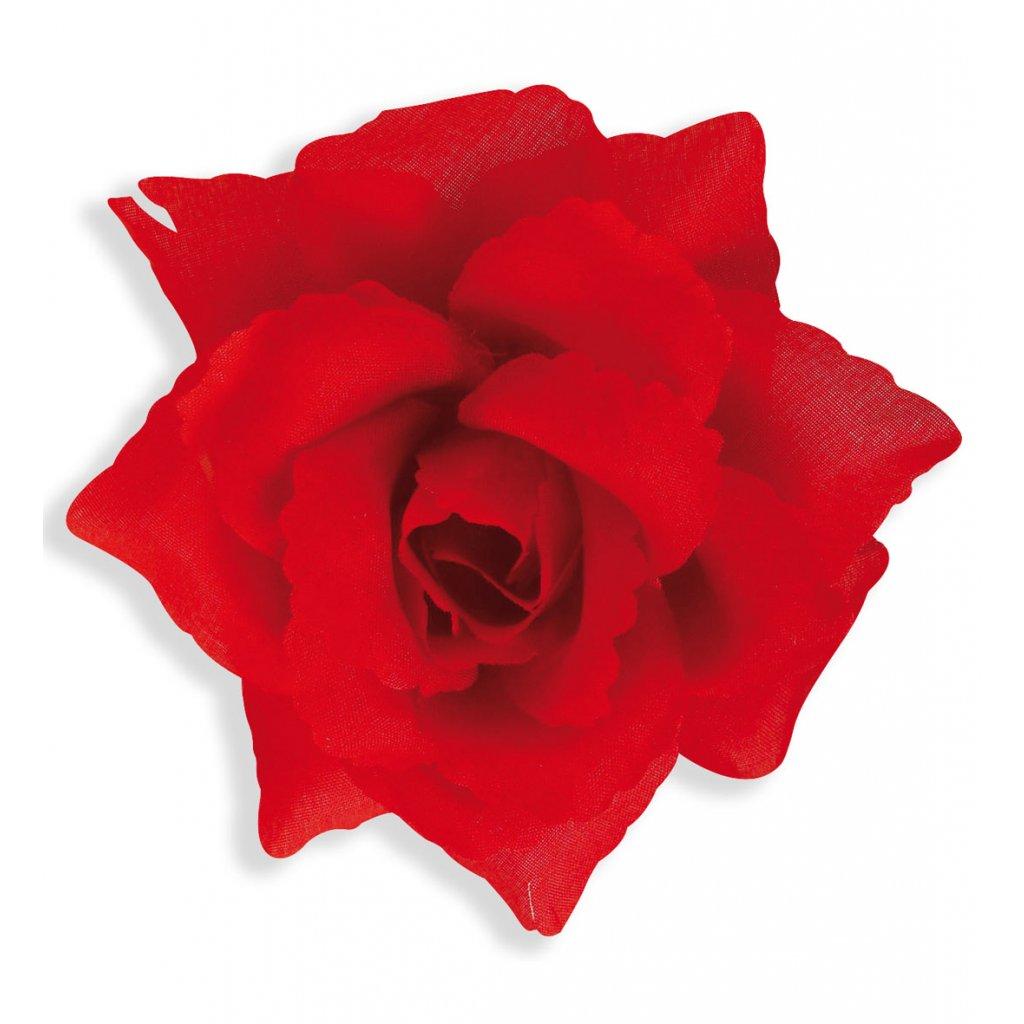 Mafiánská brož červená růže