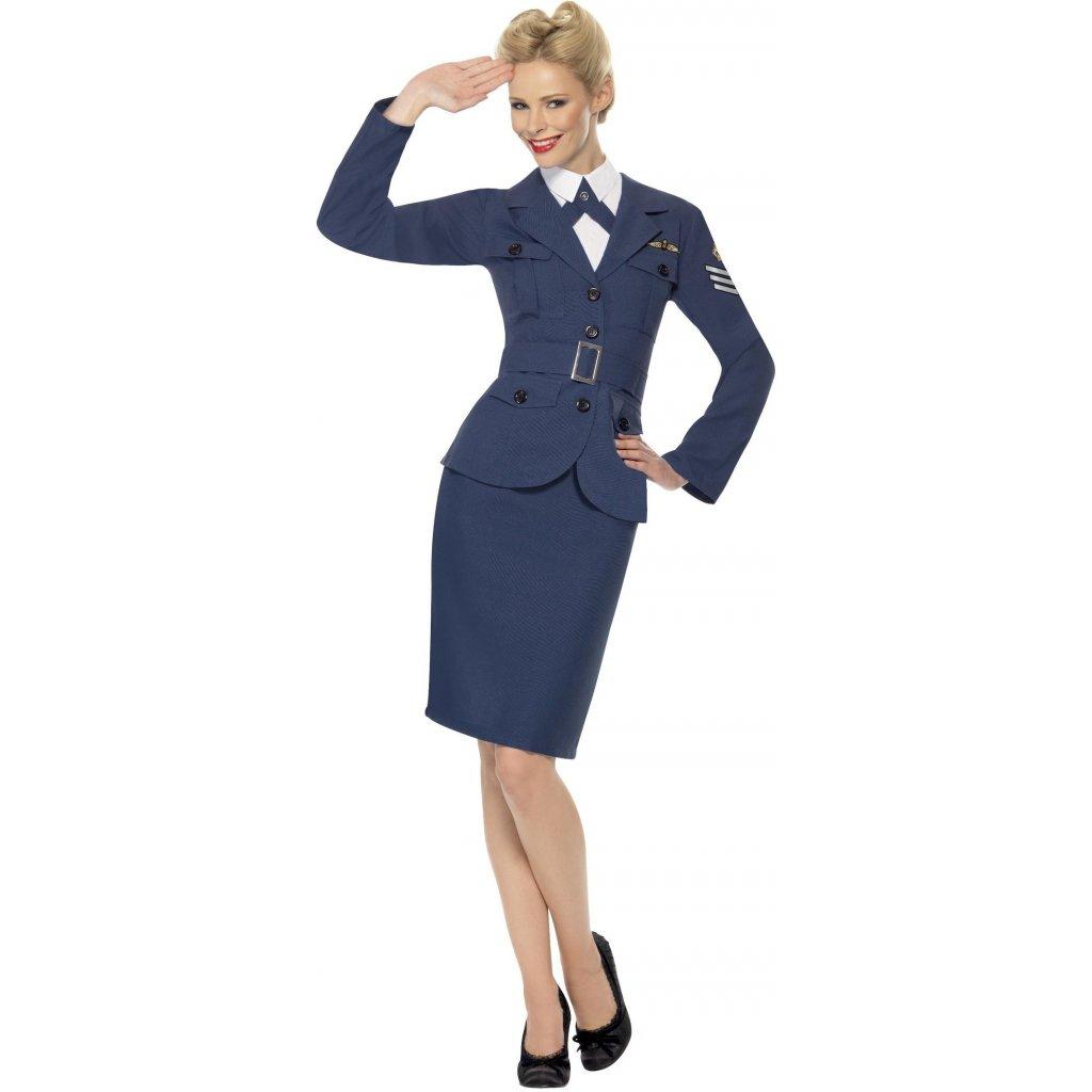 Kostým letušky Airforce