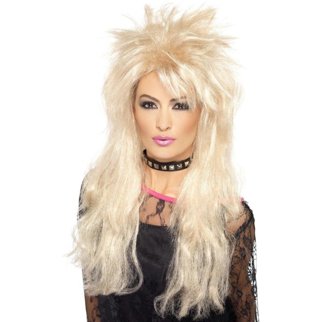 dámská blond paruka 80. léta