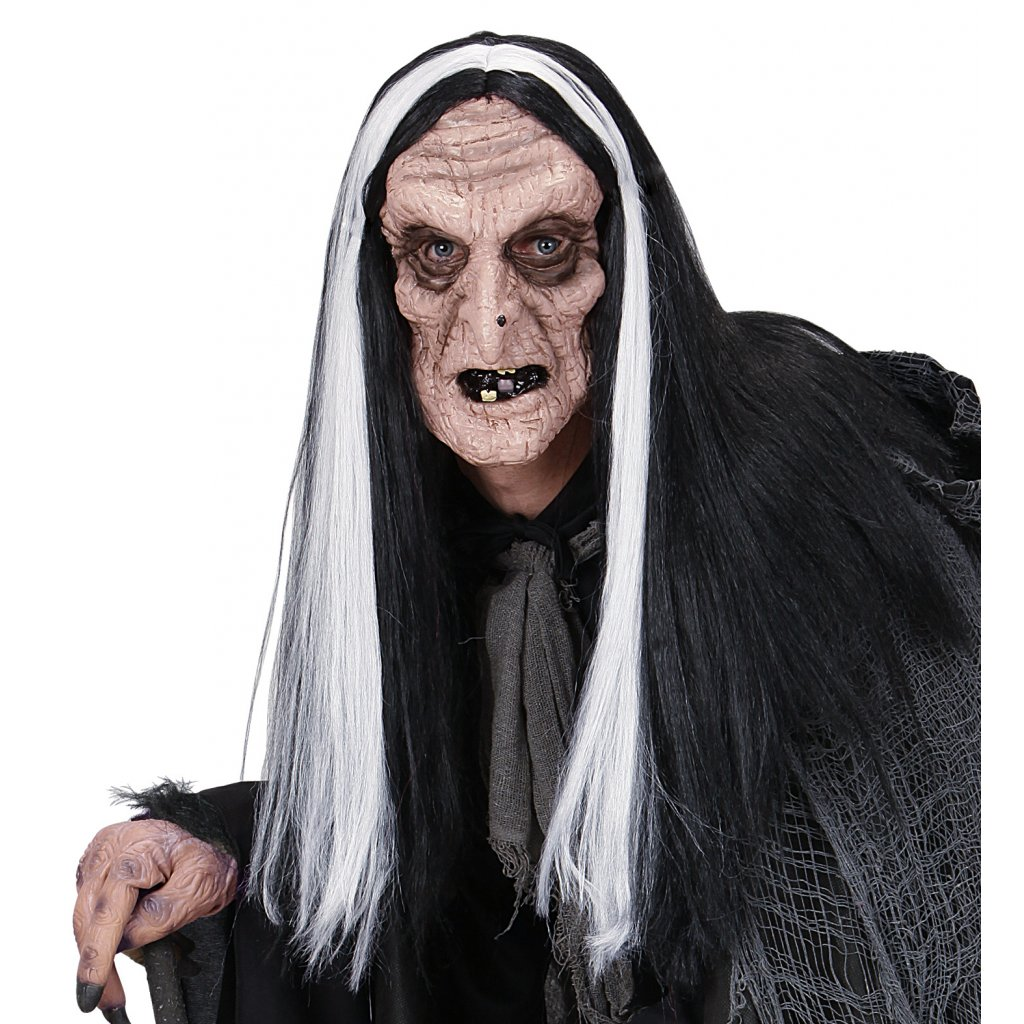 čarodějnice s dlouhými vlasy