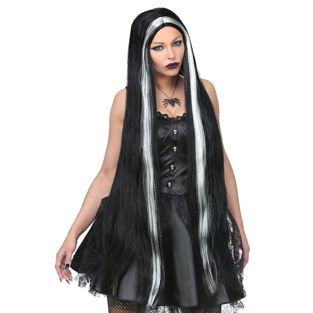 extra dlouhá čarodějnická paruka