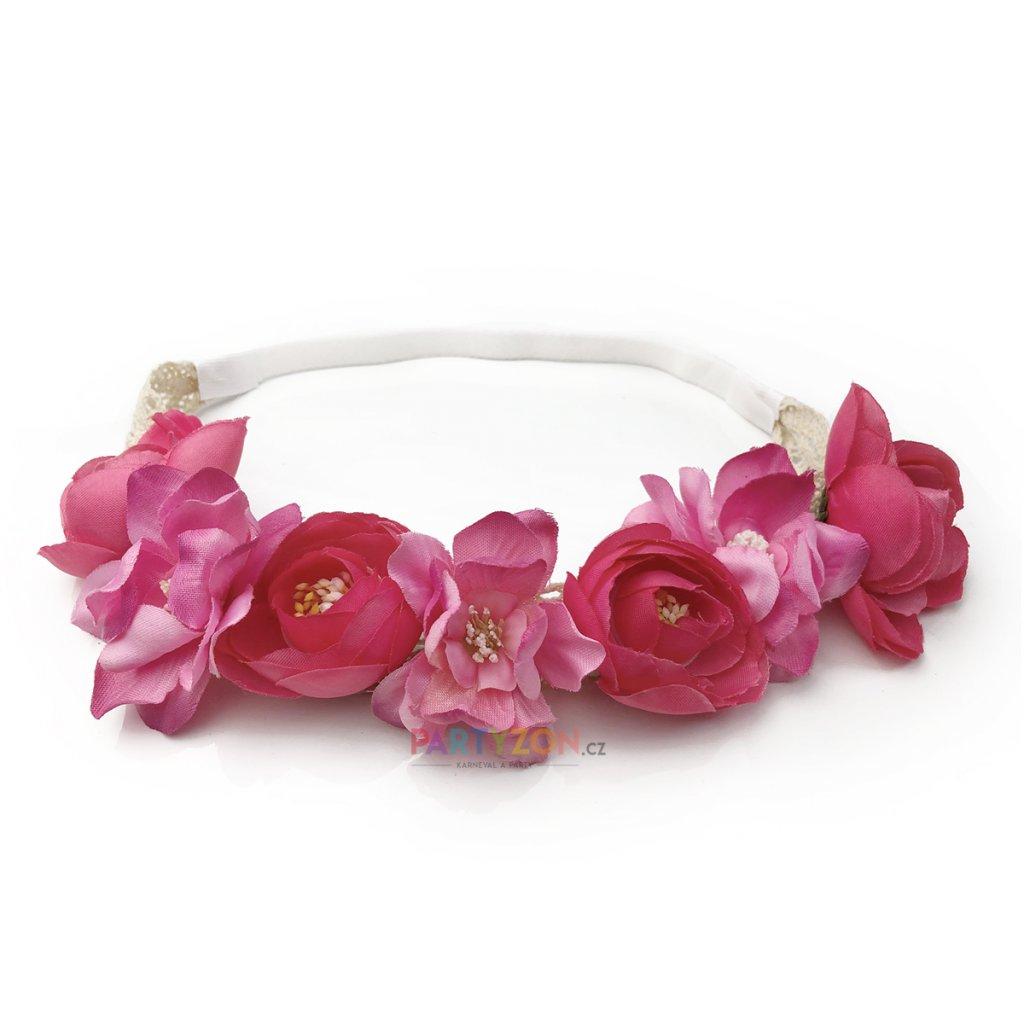kvetinova celenka ruzova