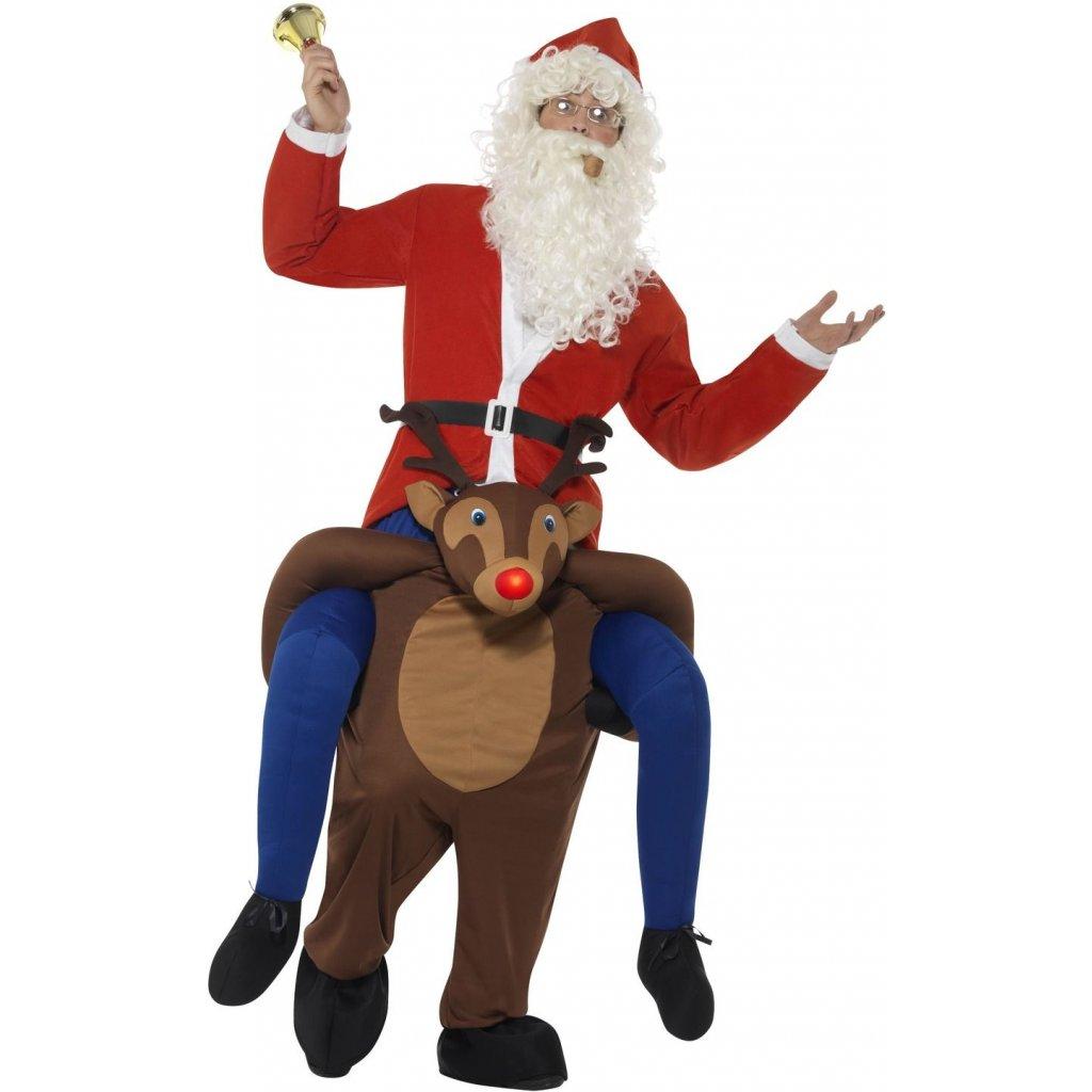 kostým jezdec Santa na soboví
