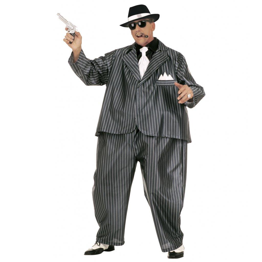 kostým tlustý gangster