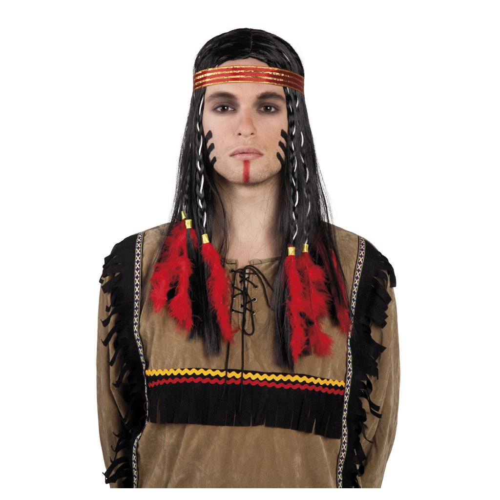 pánská indiánská paruka