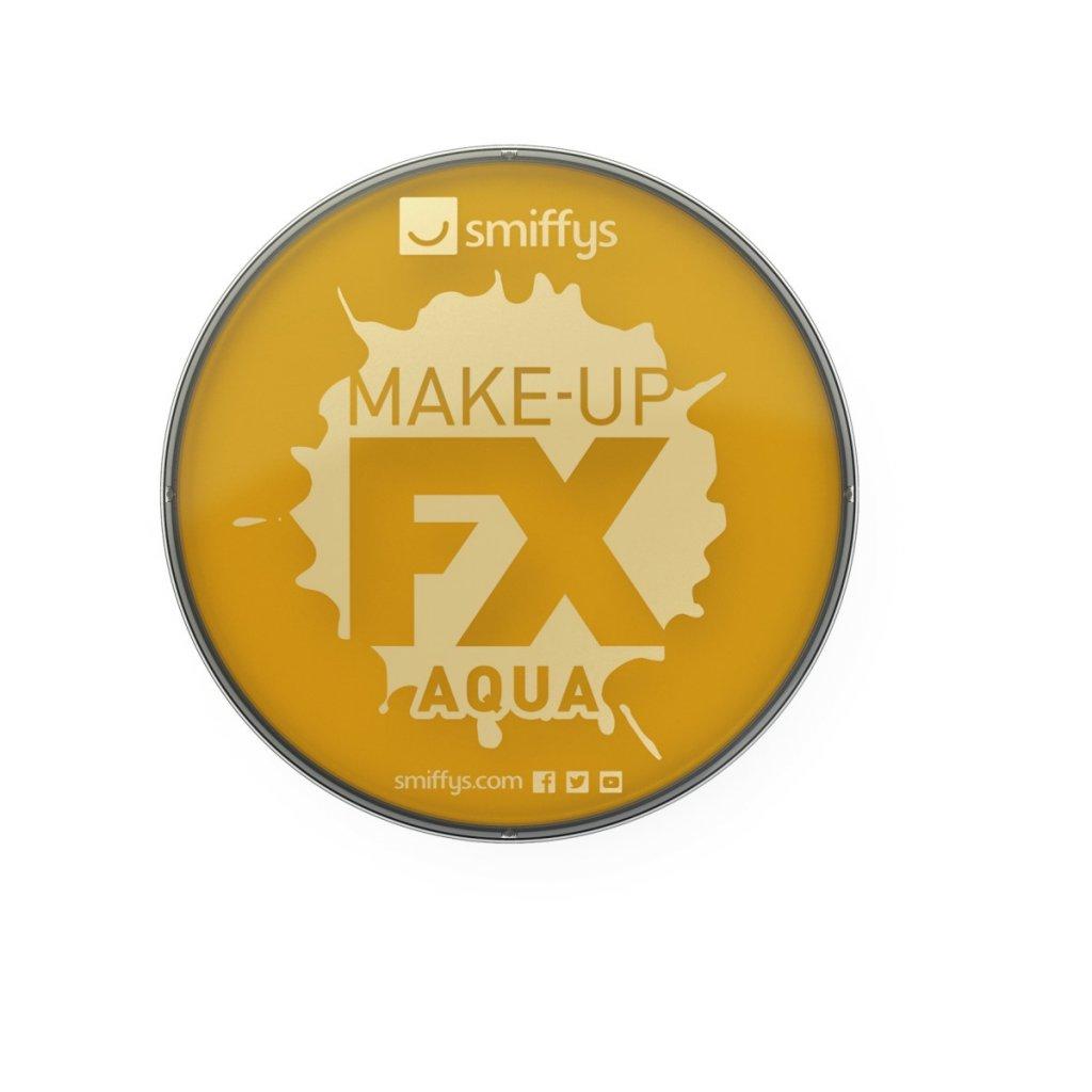 FX barva na obličej a tělo zlatá