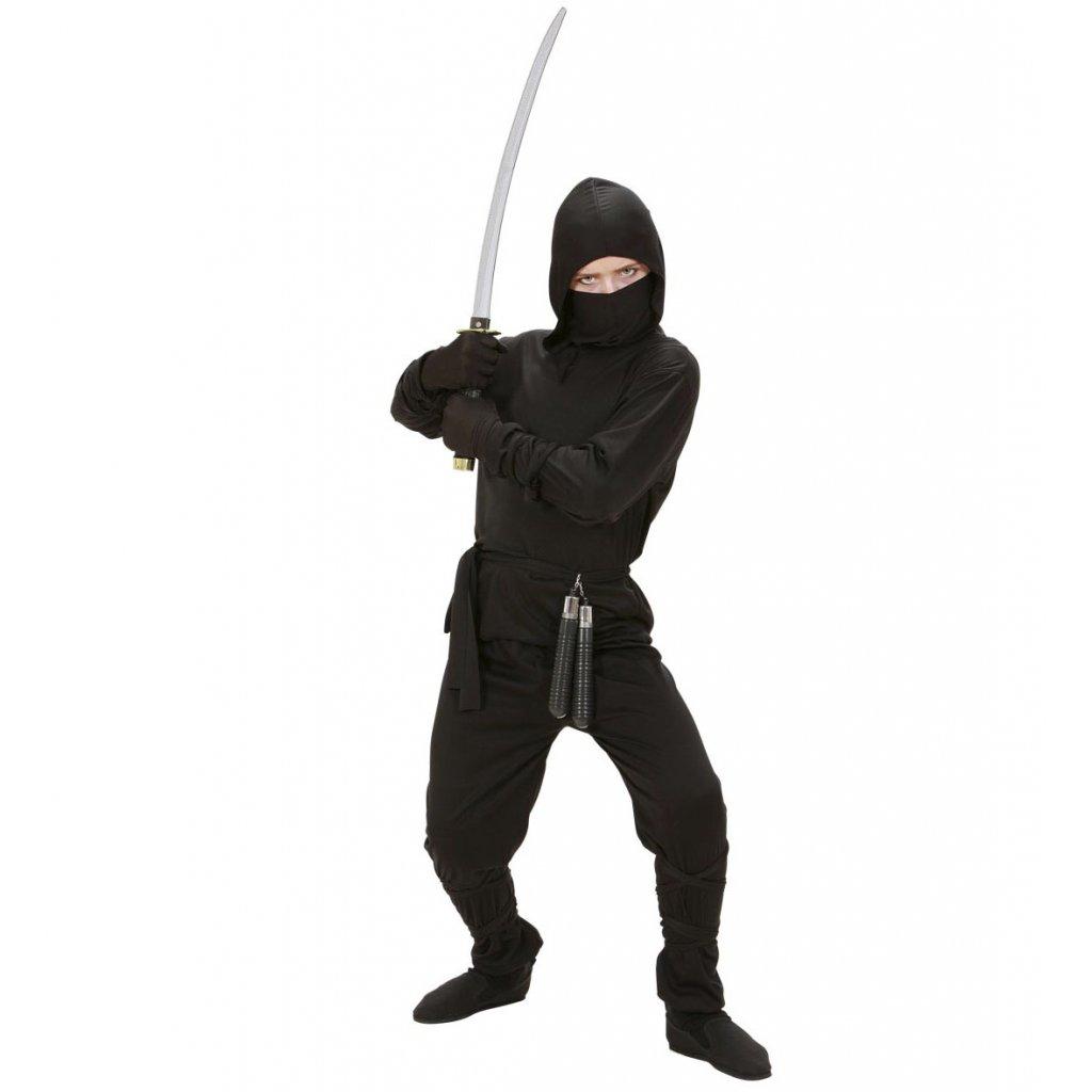 kostým ninja černý