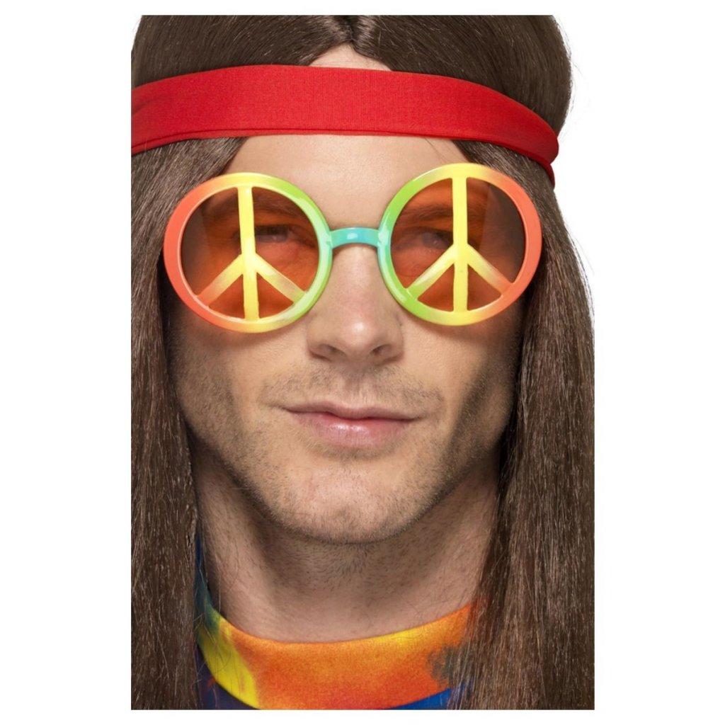 Hippie brýle Peace lenonky