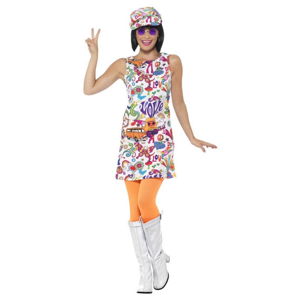 Hippie kostým Peace and love kopie