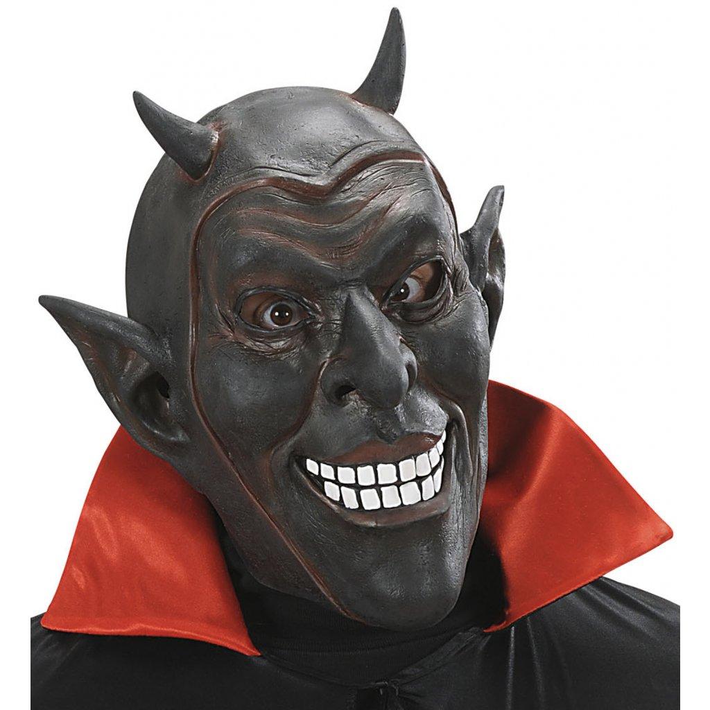 Černá maska čerta