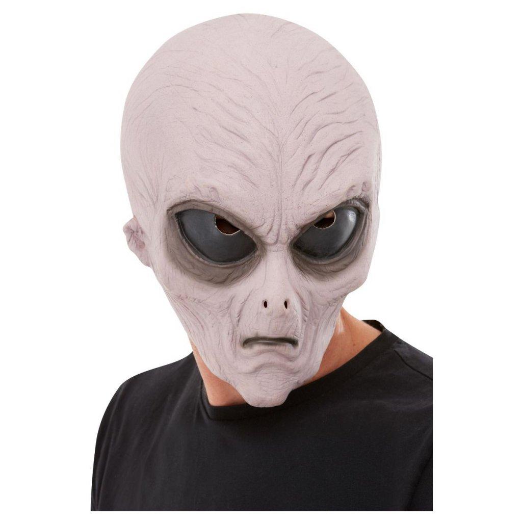Latexová maska mimozemšťan